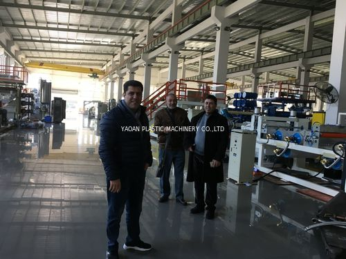 china latest news about Middle East Customers Visited YAOAN
