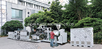 Single Screw Extruder Machine , Pp Sheet Extrusion Machine With PLC Control System