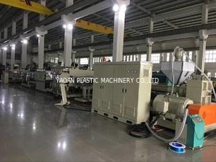 China Environmental Pvc Profile Extrusion Line , Profile Sheet Making Machine factory