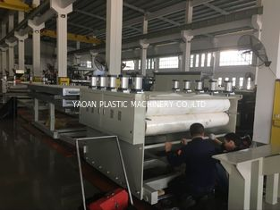 China PP / PE / Pvc Profile Extrusion Machine , Pvc Sheet Machine High Strength factory