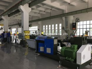 Blue Color Plastic Drainage Plastic Profile Extrusion Machine Pvc Profile Plant