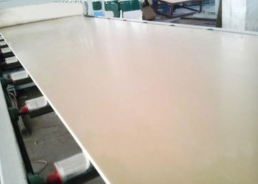 PE / PP / PVC / WPC Profile Production Line Wood Plastic Composite Machine