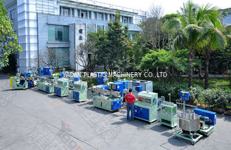 China Professional Plastic Pipe Extrusion Machine For Automobile Brake 55mm Screw Size factory