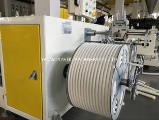 PVC Single Wall Corrugated Pipe Extrusion Machine For 12mm- 32mm Diameter Pipes