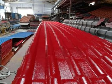 High Output Capacity Plastic Roofing Sheet Manufacturing Machine 65mm Screw