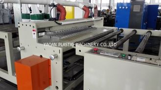China 200kw Plastic Roof Tile Machine , Tile Production Line Twin Screw Plastic Extruder factory