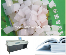 China Super Transparent Hot Melt Glue Stick Making Machine Extrusion Line Steel Material factory