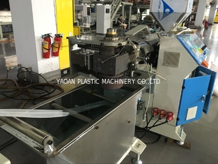 PE Soft Plastic Net Making Machine For Garlic / Fruit Package Siemens Motor