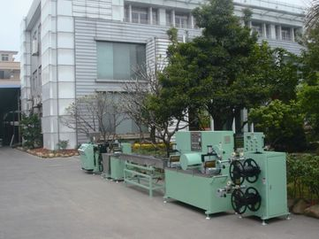 Plastic Net Extrusion Line , PE Net Knitting Machine 35kg/Hr Capacity