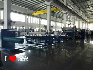 AF-2000mm Wide Plastic Net Making Machine With Single Screw Extruder