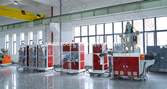 Single Screw Plastic Extruder Carrier Tape Forming Machine With ABB Inverter