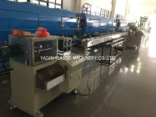 China PP Drinking Straw Extrusion Machine For 3 Colors Straw Making factory