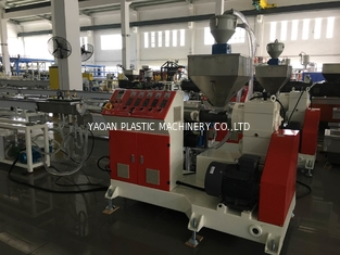 China High Output Drink Straw Extrusion Machine Single Screw Plastic Extruder factory