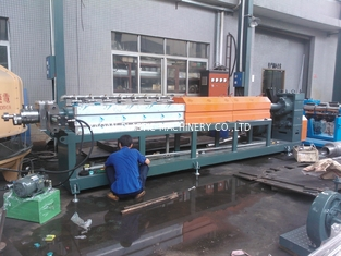 China PE Foam Sheet Making Machine Pe Foam Sheet Extruder Blue Machine Color factory