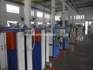 PMMA, PC, PS Plastic Optical Fiber Making Machine / Fiber Extrusion Equipment