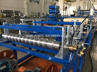 China High Speed Roof Tile Manufacturing Machine , Plastic Tile Production Line factory