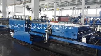 PC Transparent Wave Roof Making Machine , Corrugated Roofing Machine Different Width