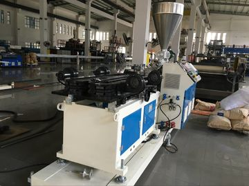 ABB Inverter Plastic Pipe Extrusion Machine Pp Pipe Extrusion Line Easy Operation