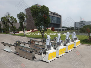 PVC Medical Corrugated Pipe Extrusion Line , Plastic Pipe Manufacturing Machine
