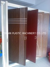WPC Material Door Floor Plastic Profile Extrusion Machine With Siemens Motor