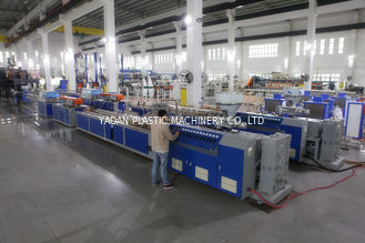 High Speed Profile Extrusion Equipment , Reliable Upvc Profile Extrusion Line