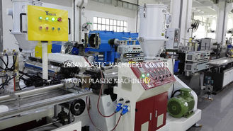 AC Motor Plastic Profile Extrusion Machine For LED Tube Light High Output