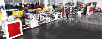 High Speed Plastic Sheet Extrusion Machine For Luggage / Household Furniture