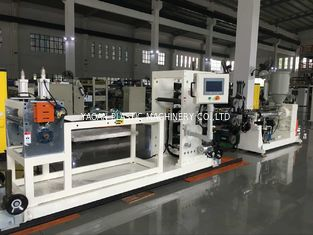CE Approved Plastic Sheet Production Line , Polycarbonate Sheet Extruders 65×30-300mm