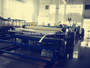 China PC / PE / PP Hollow Sheet Extrusion Line With Material Light Multi Function factory