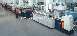 China CE Certificated PP Hollow Sheet Extrusion Line PLC Temperature Control System factory