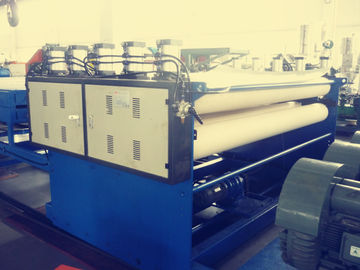 China 120mm Screw Hollow Profile Sheet Extrusion Line For Advertising Boards factory