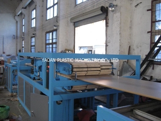 China Waterproof WPC Foam Manufacturing Machine Epe Foam Sheet Extruder Twin Screw factory