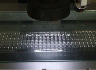 High Output Carrier Tape Forming Machine Strong Toughness 0.2mm-0.5mm Thickness