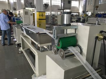 China Auto Controlling System Plastic Net Making Machine For Garlic Vegetable Packing factory