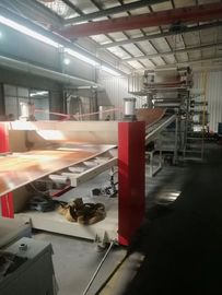 Customized Plastic Sheet Extrusion Machine For PVC Artifical Marble Sheet Board