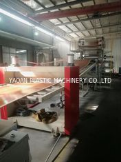 China Customized Plastic Sheet Extrusion Machine For PVC Artifical Marble Sheet Board factory