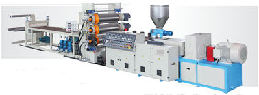 Multi Color Plastic Extrusion Machine Decorative Pvc Wall Panel Extrusion Line