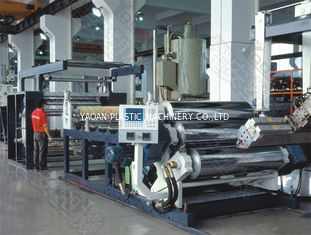 Eco Friendly Plastic Sheet Extrusion Machine With Twin Screw Extruder