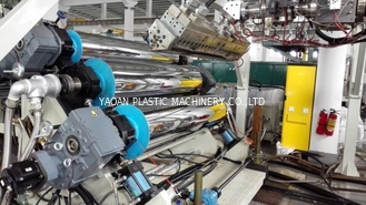Twin Screw PET Sheet Extrusion Machine, Using Bottle Regrind Flakes As Raw Material, Dryer free
