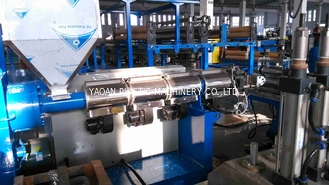 China Soft Plastic Sheet Extrusion Machine , Flexible PVC Sheet Extrusion Equipment Production Line factory