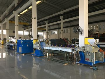 China PVC Garden Hose Extrusion Machine / PVC Fibre Reinforced Hose Production Line factory