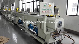 China Plastic PPR Water Supply Pipe Extrusion Machine  , PP - R Water Pipe Extrusion Line factory