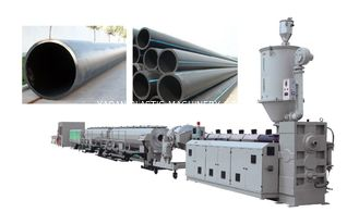 China 63-630mm PE HDPE Plastic Pipe Extrusion Machine , Plastic Pipe Extrusion Machine factory