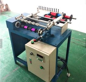 6 Heads Mini Metallic PP Ribbon Spool Satin Ribbon Roll Making Machine