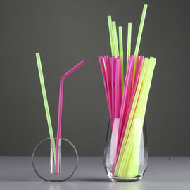 China Three Colors PP, PLA Drinking Straw Making Machine 55mm Screw Size factory