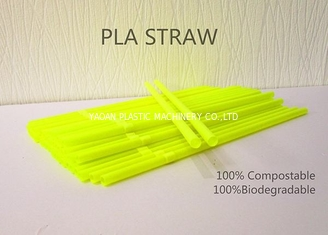 China 100% Biodegradable PLA Drinking Straw Making Machine Disposable Eco Friendly  Polylactic Acid Straw factory