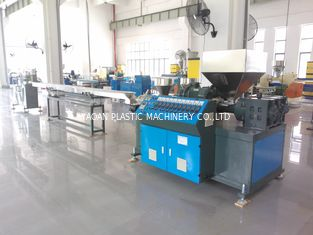 China AF-55MM 3 Colors PP PVC PE Rattan Extrusion Machine , Plastic Rattan Making Machine factory