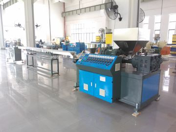 AF-55MM 3 Colors PP PVC PE Rattan Extrusion Machine , Plastic Rattan Making Machine