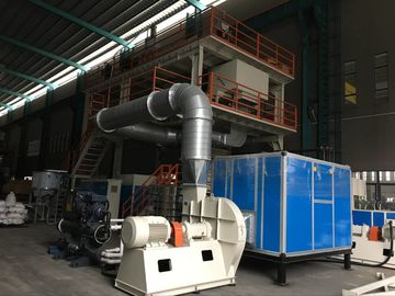 Single Beam PP Spunbond Nonwoven Fabric Machine , PP Nonwoven Fabric Making Machine
