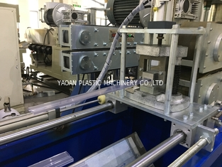 PVC IC Packing Tube / Plastic Profile Extrusion Machine , IC Tubing Extrusion Line